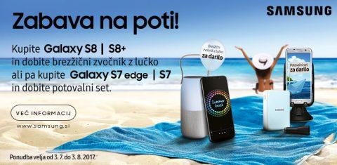 Kampanja Samsung - ZABAVA NA POTI