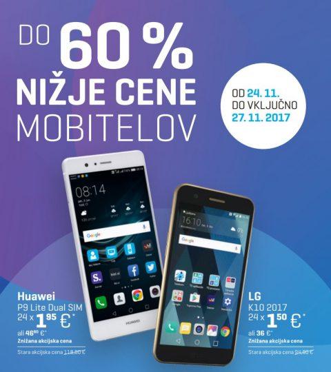 Modri PETEK, do 60% nižje cene mobitelov
